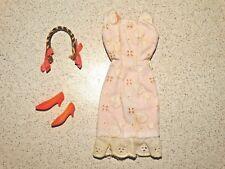 Barbie:  Francie VINTAGE Complete SUMMER FROST Outfit!