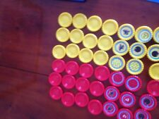 Connect 4, Set Of Red Counters. Genuine Hasbro Games Parts.