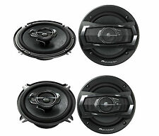 "4 X PIONEER   (2)TS-A1675R 6-1/2"" 3-way + (2)TS-A1375R 5-1/4"" 3-way SPEAKERS"