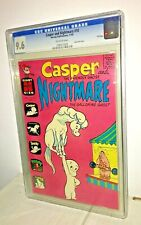 Casper and Nightmare #10, CGC 9.6, Off-White Pages