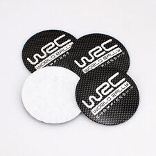 4X 56mm Car Wheel Center Caps Rim Hub Cover WRC Emblem Decal Stickers For SUBARU