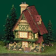 Dept 56 - Dickens Village - Hedgerow Garden Cottage
