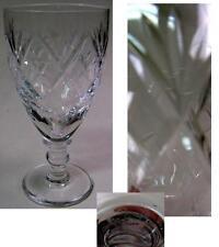 GEORGIAN CRYSTAL SHERRY GLASS WEBB & CORBETT