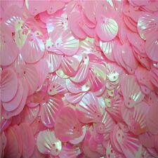 NEW DIY 20mm shiny Decorate Seashells loose sequins Paillettes sewing PICK U