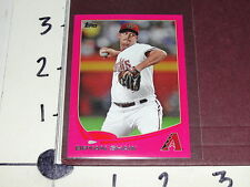 Bryan Shaw 2013 TOPPS #101 BCA Pink Mini SP/25 Cleveland INDIANS / Diamondbacks