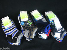 2x Pack of 5 Kids Boy's Sports Ankle Socks Size 13-3 Spandex (total of 10 pairs)