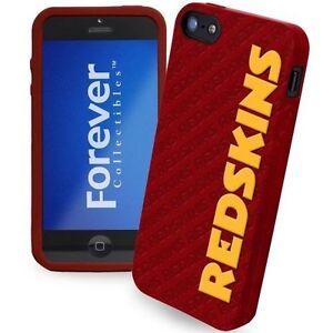 NFL Washington Redskins Silicone iPhone 5 Cover - Burgundy/Gold NWT