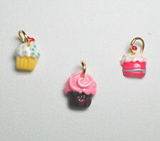 Charm or Nail Dangle - Mixed Cupcake's
