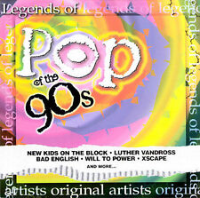 Various Artists : Legends of Music: Pop of the 90s CD