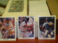 1990 Leaf baseball pick 30 finnish your set ex-nm