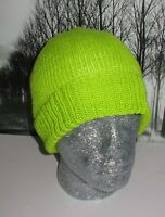 PRINTED INSTRUCTIONS - SIMPLE DK BEANIE HAT KNITTING PATTERN BY MADMONKEYKNITS