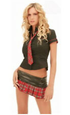 Adult School Girl Costume Sexy Trinians Fancy Dress Uniform Ladies Womens -5001