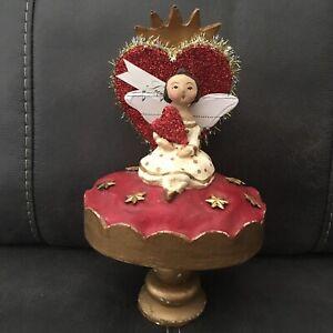 RARE Vintage Nicol Sayre Sweetheart Angel  Doll Statue
