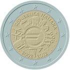 manueduc 2 Euros CONMEMORATIVOS 2012 10º ANIVERSARIO TODOS PAÍSES NUEVOS