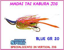 MADAI TAI  KABURA LIGHT   20 GR TRABUCCO  - COLORE  BLUE