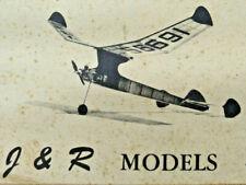 "33"" STRATO STREAK .020 Cox Engine Powered Free Flight Airplane Kit J&R Model M-3"