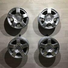 4x Audi A6 4BH C5 Allroad Alufelgen 7.5x17 ET25 5x112 Felgen 4Z7601025 2-teilig