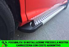 TOYOTA RAV4 2013-2018 PEDANE LATERALI SOTTO PORTA ALLUMINIO PUNTI -