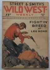 WILD WEST WEEKLY pulp magazine November 19, 1932