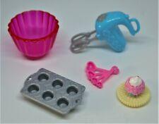 Baking Set Original Mattel Barbie Doll Accessories