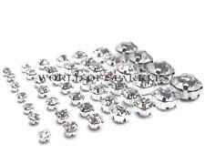 Sew on Rhinestone Clear Crystals Diamante Diamonds for Wedding Sewing AAA Grade