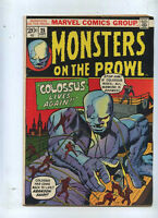 Monsters on the Prowl 25 Fine+ Marvel CBX40C