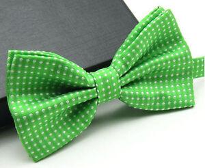 Men's Fashion Tuxedo Classic Polka Dots Adjustable Wedding Party Bowtie Bow Tie