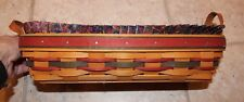 Longaberger 1997 Father's Day Personal Organizer Basket Liner Protector