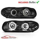 1998 1999 2000 2001 2002 Chevy Camaro LED Projector Headlights Pair