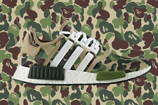 Adidas NMD R1 x Bape Camo Green BA7326 ( UK 5 - US 5.5 ) Receipt Limited Y 350