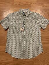 ROBERT GRAHAM Oriole S/S Airplane Print Classic Fit Shirt - Men's (M) MEDIUM