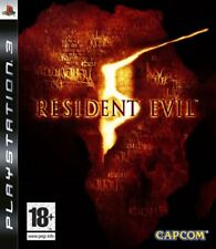Resident Evil 5 Ps3 Play Station 3 Capcom 5gb ITA