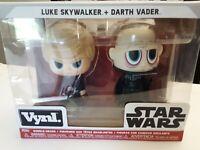 Funko Vynl. Star Wars™: Luke Skywalker™ + Darth Vader™ Vinyl Bobble-Heads #31623