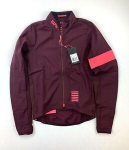 RAPHA Pro Team Training Jacket Size Medium Burgundy New with Tags