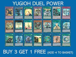 YuGiOh Duel Power -  All Rarities - Choose your card - DUPO - Buy 3 Get 1 Free