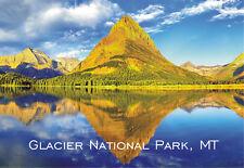 Swiftcurrent Lake, Glacier National Park, Montana, Souvenir Fridge Magnet MT500