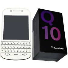 New Blackberry Q10 SQN100-3 White 16GB AZERTY Keypad Factory Unlocked 4G Simfree