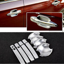 Chrome Door Handle Bowl Cover Cup Overlay Trim For Citroen C3-XR #HC20