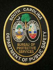 South Carolina SC State Police Highway Patrol Patch DEPARTMENT PUBLIC SAFETY DPS