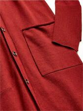 Jessica Simpson Women's Laela Cardigan Sweater Duster, Red Pear, Size X-Large pp