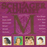 """DAS SCHLAGER ALPHABET """" Buchstabe M """" CD Neu & OVP MCP"""
