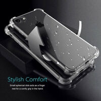 Exact Design Rugged Case Shockproof TPU Cover Clear For Samsung Galaxy S9 S9Plus
