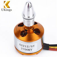 2700KV A2212/5T Brushless Motor Outrunner For RC Airplane Aircraft Quadcopter K