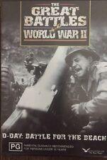 The Great Battles World War II All Regions New Sealed Free Postage Australia