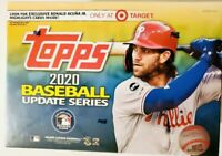2020 Topps MLB Baseball Update Series Mega Box Target Exclusive Megabox Sealed