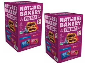 Nature's Bakery Fig Bar Variety Pack (2 oz. 24 pk)- 2 Pack FREE SHIPPING!