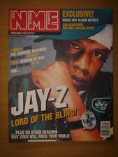 NME 2002 JAN 12 JAY-Z EMINEM OASIS CHEMICAL BROS BLUR