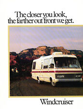 1985 Itasca Windcruiser Motorhome Camper 16-page Original Sales Brochure Catalog