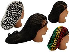 Mesh Hair Net Crochet Fish  Cap Snood Sleeping Night Cover Turban Hairnet Women