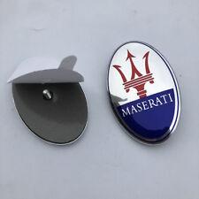 Maserati Quatrroporte,GT,Ghibli,Levante Front Bumper Emblem PN 68332000